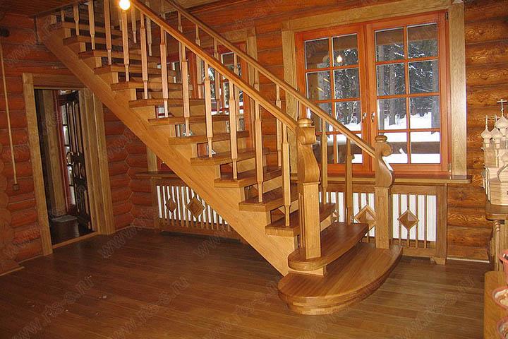 Лестница для дачи из дерева Сергиев Посад цена