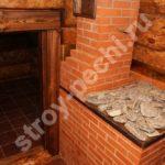 печь варочная для дачи кирпичная