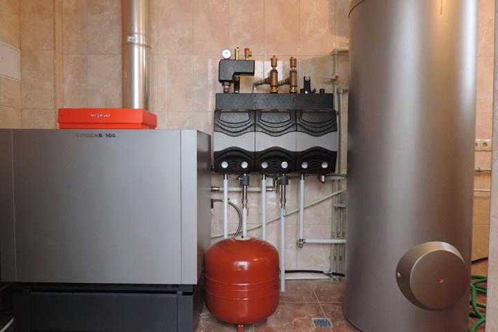 Газовый котел для отопления частного дома своими руками 79