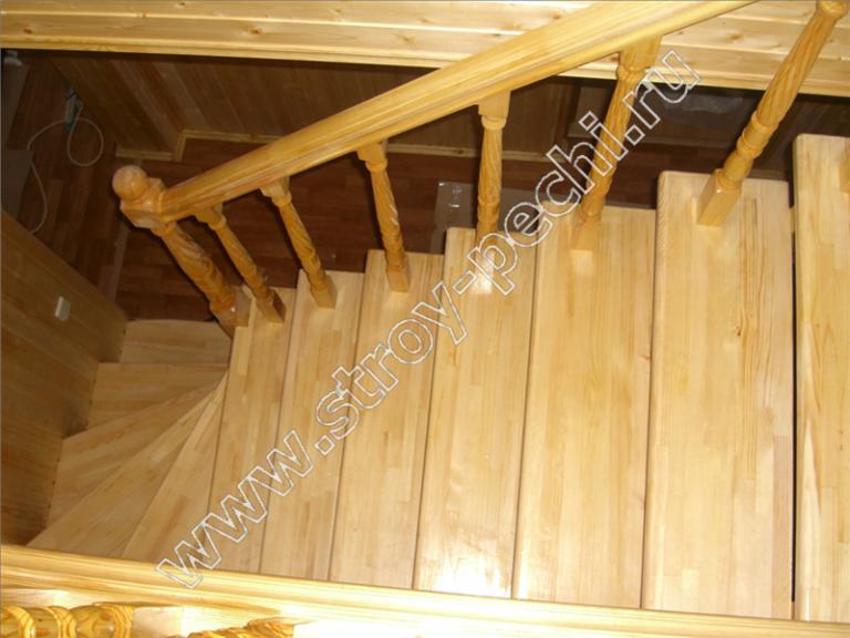 лестница для дачи сделать