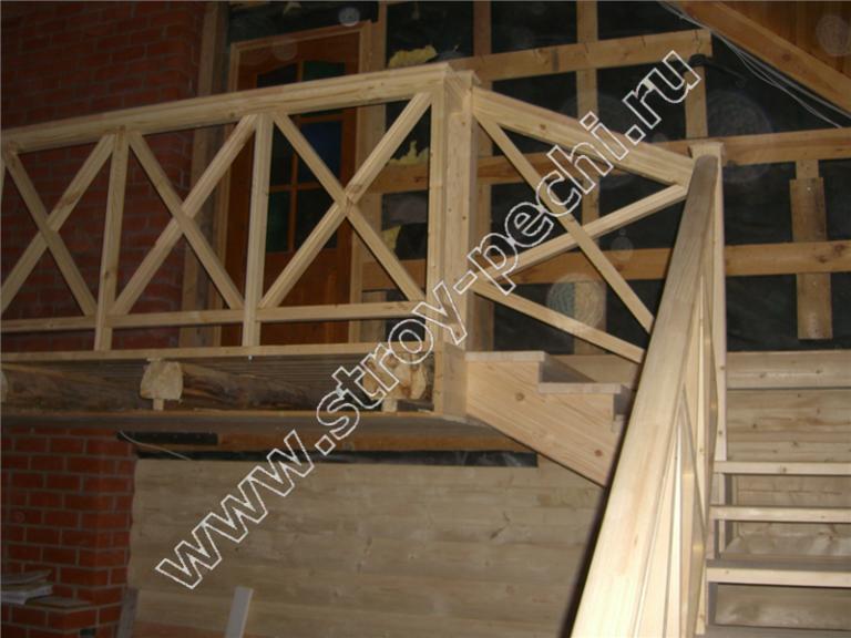 лестница для дачи проекты