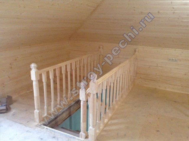 деревянные лестницы для дачи и дома проект под ключ недорого